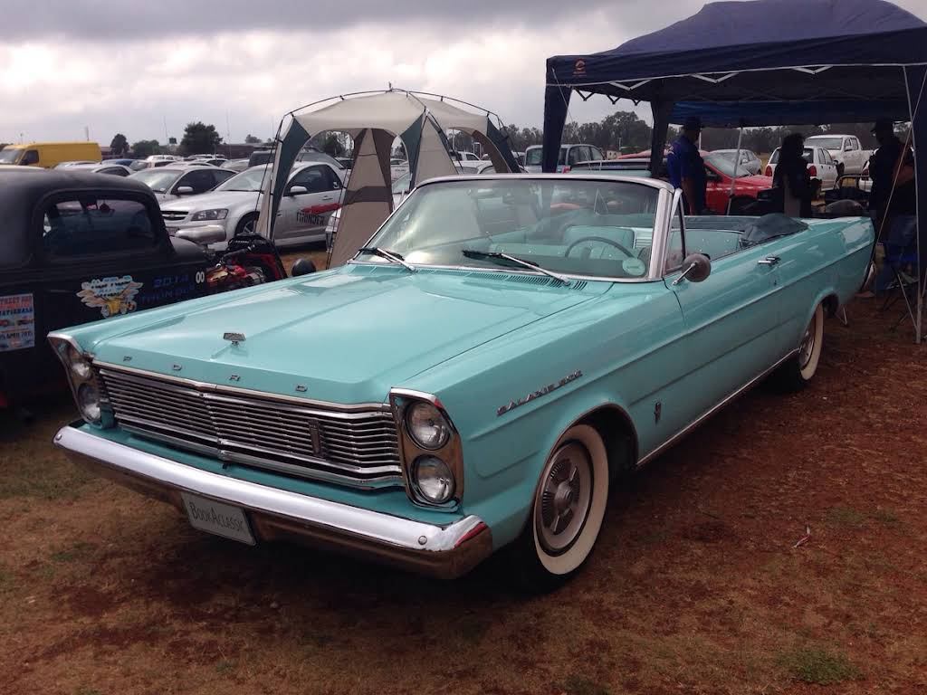 1966 Ford Galaxie for rent Hire Rustenburg