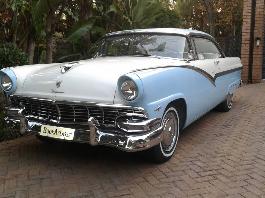 1956 Ford Fairlane Victoria Hire Pretoria