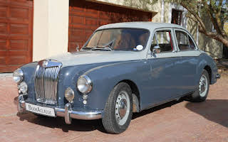 MG ZB Magnette Varitone Rent Western Cape