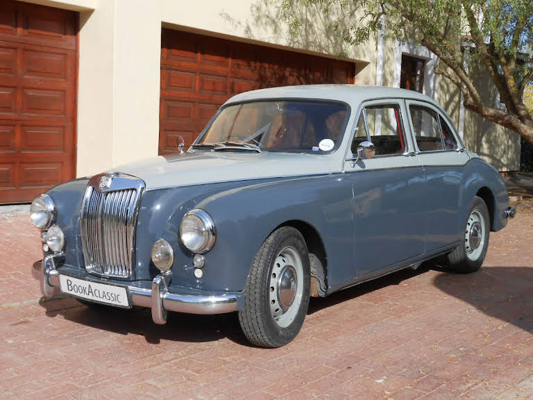 MG ZB Magnette Varitone for hire in Western Cape Hire Wellington