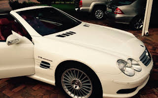 Mercedes Benz SL55 AMG Rent Western Cape