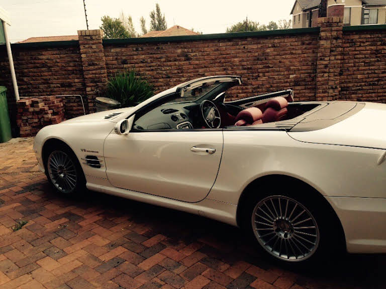 Mercedes Benz SL55 AMG for rent in Western Cape Hire Cape Town