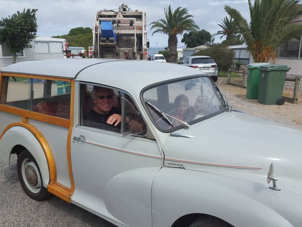 Morris Minor 1000 Traveller for rent in Western Cape Hire Cape Town