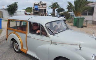 Morris Minor 1000 Traveller Rent Western Cape