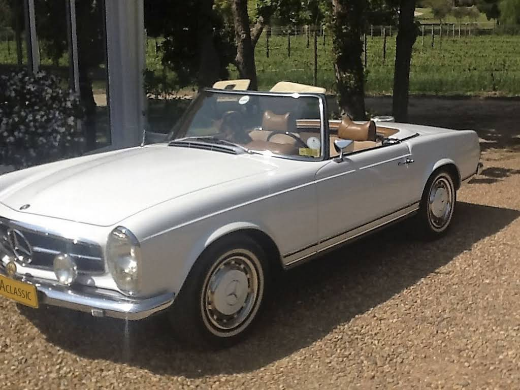 "1969 Mercedes 280SL ""Pagoda"" for rent in Western Cape Hire Groot Drakenstein"