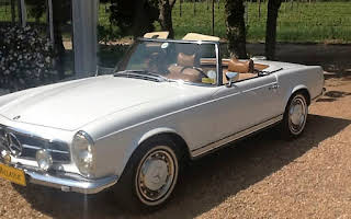 Mercedes Benz 280SL Pagoda Rent Western Cape