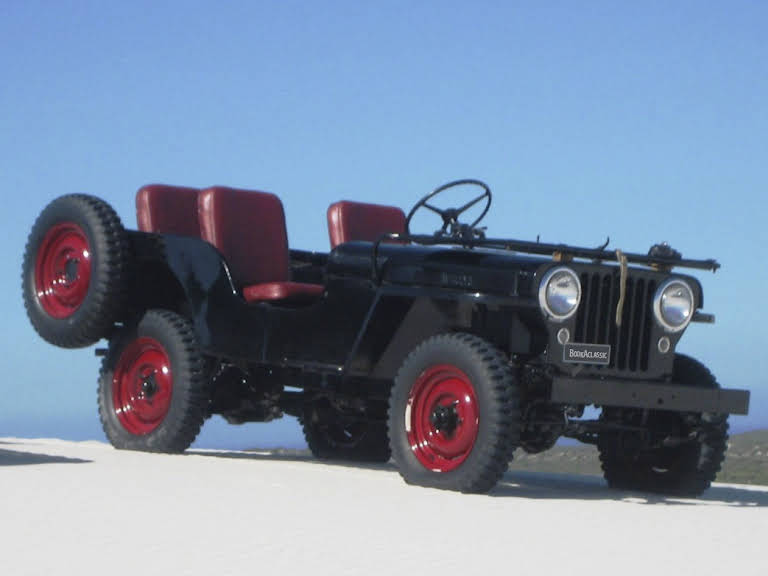 1948 Willys Jeep Cj2a for rent in Western Cape Hire Cape town