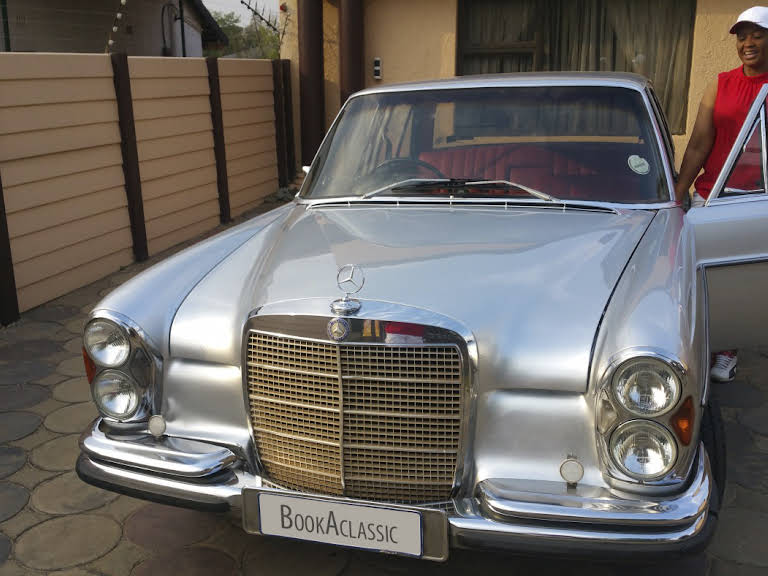 1973 Mercedes Benz 280se for rent in Gauteng Hire kempton park