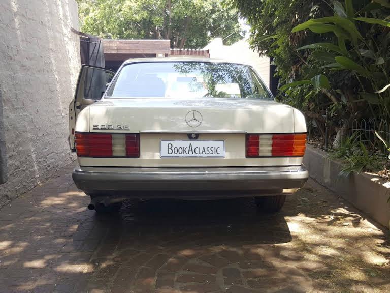 1989 Mercedes-Benz 500 SE for rent in Gauteng Hire Pretoria