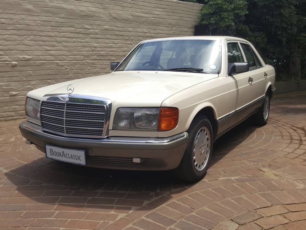 mercedes benz 500 se for hire in pretoria bookaclassic