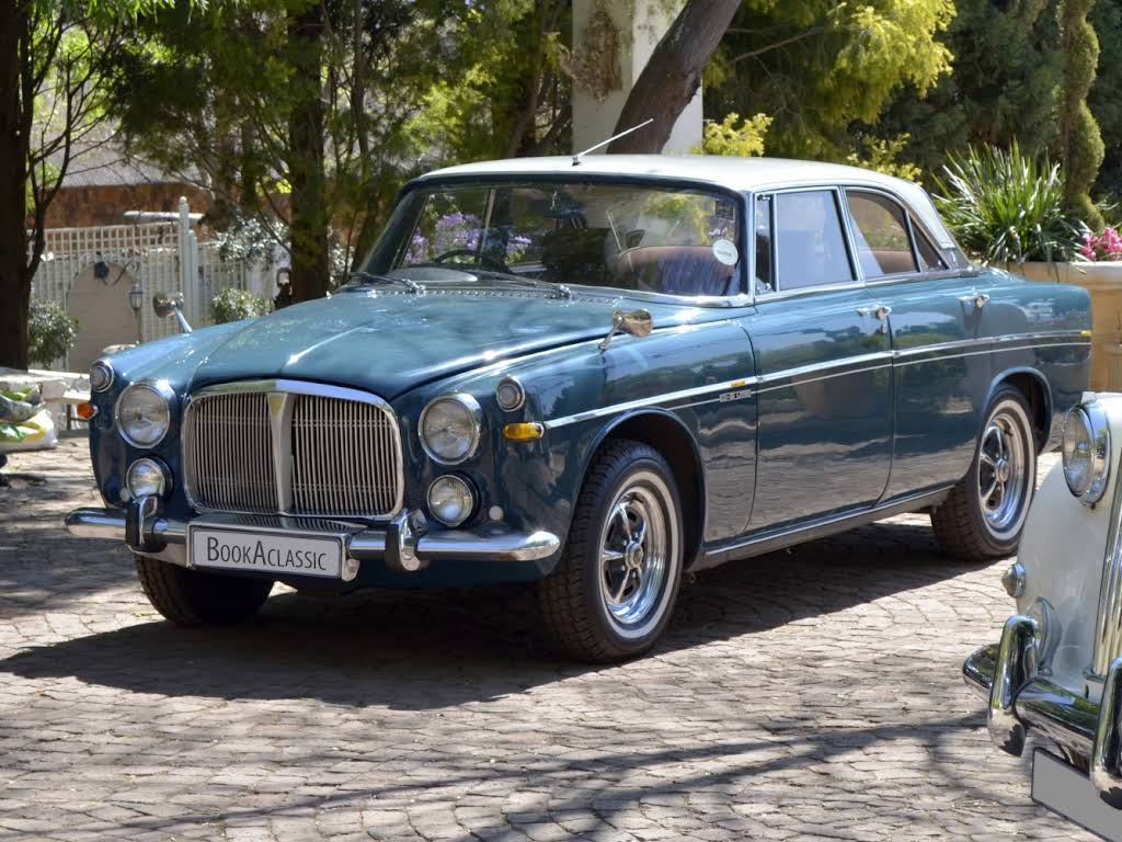 1970 Rover P5b coupé for rent in Gauteng Hire Henley on Klip