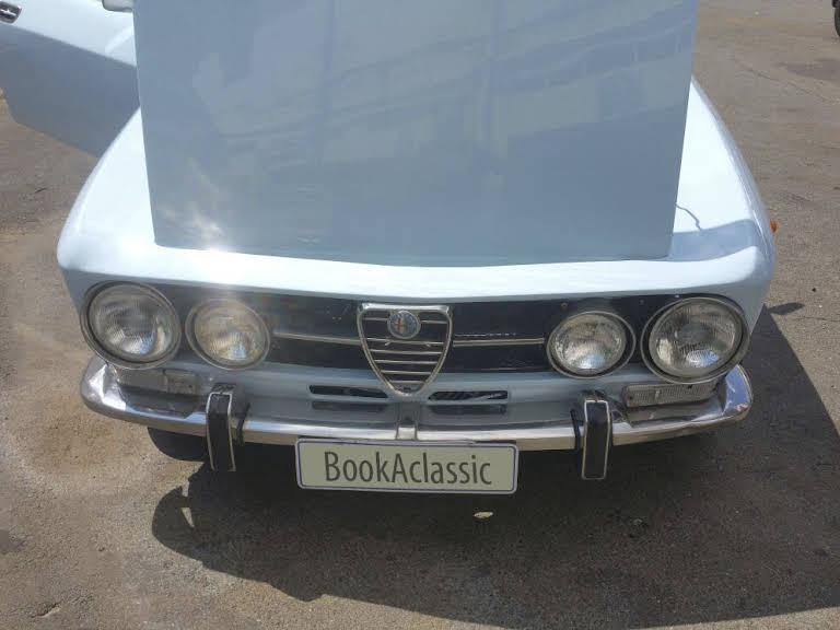 1969 Alfa Romeo 1750 gtv Hire Johannesburg