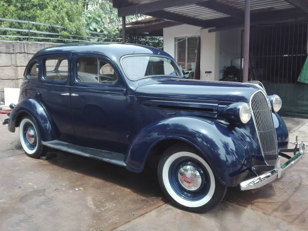 1937 Plymouth Deluxe 4-Door Sedan Hire Pretoria