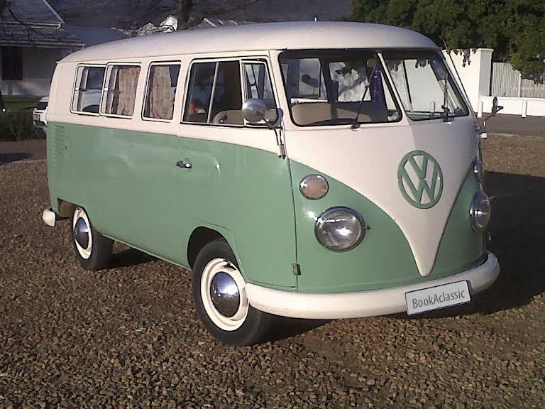 1965 VW camper van for rent in Western Cape Hire Paarl