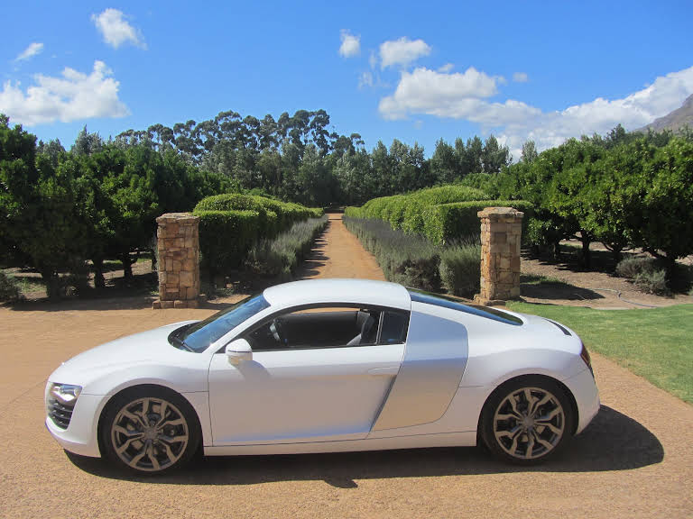 Audi R8 for hire in Cape Town - BookAclassic