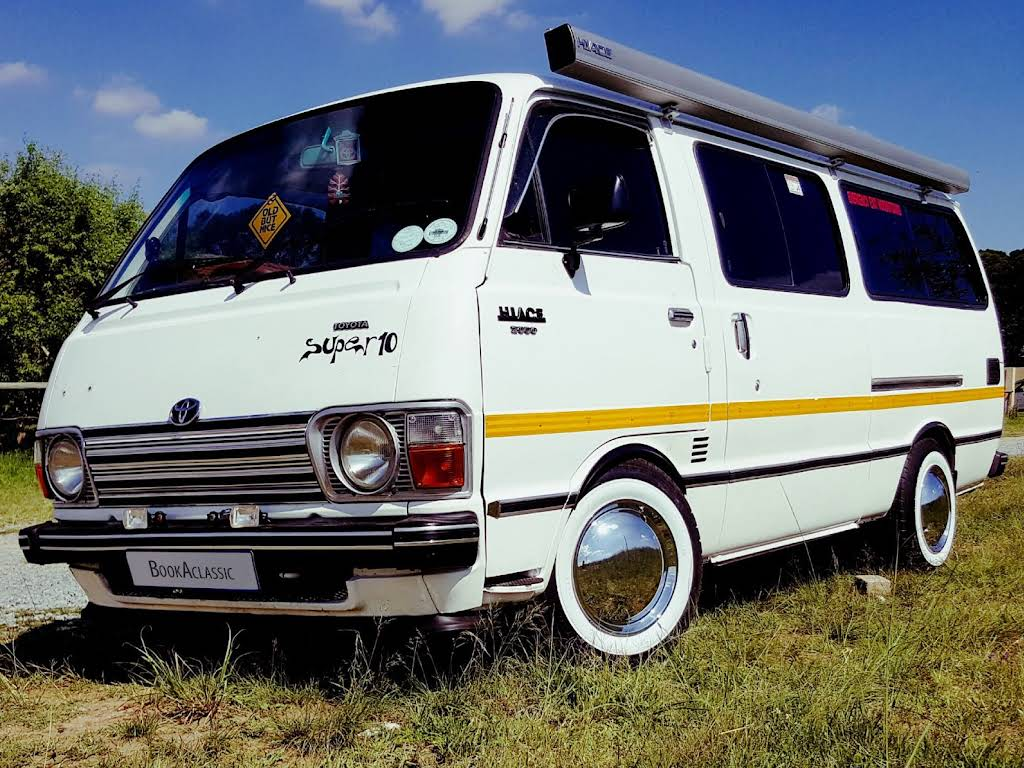 1976 Toyota Hiace for rent in Gauteng Hire Midrand