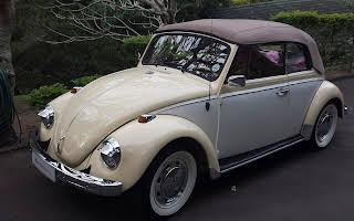 Volkswagen Cabriolet Beetle Rent Gauteng