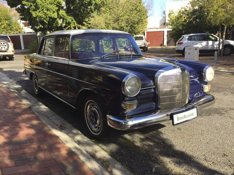 1967 Mercedes Benz Fintail for rent in Western Cape Hire Stellenbosch