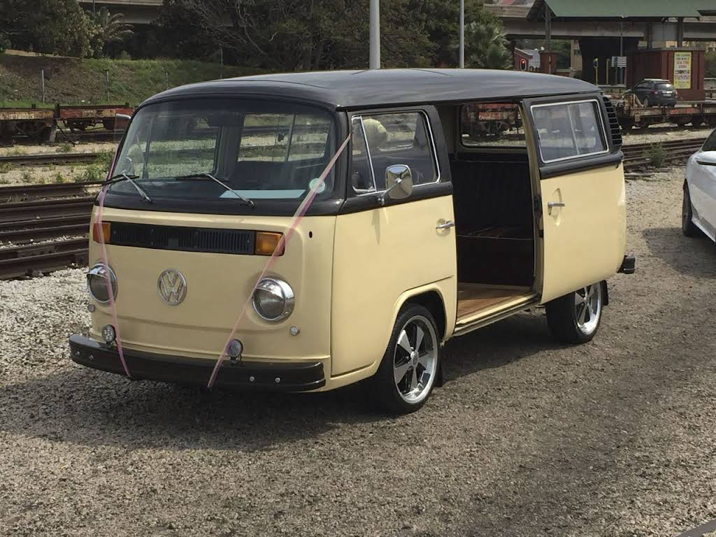 1974 VW Kombi for rent in Gauteng Hire Pretoria