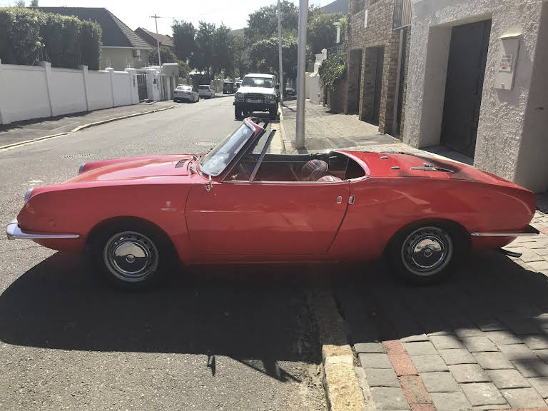1972 Fiat Sport Spider for rent in Western Cape Hire Cape Town