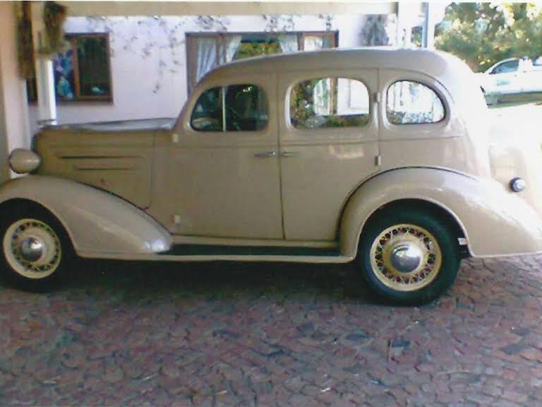 1936 Chevrolet Sedan Sedan Hire Capetown