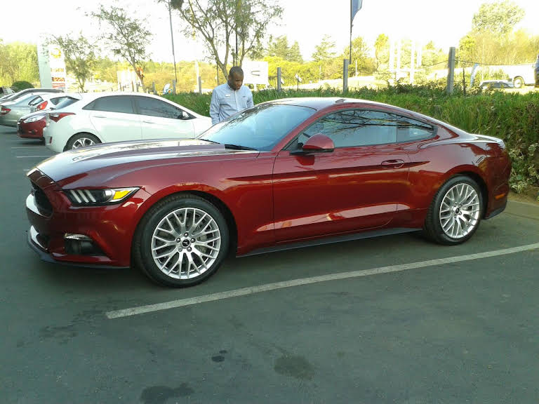 2016 Ford Mustang 2.3 Ecoboost Hire Vereeniging, Gauteng